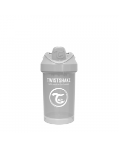 Vaso Twistshake Crawler Cup 300ml 8+m gris pastel