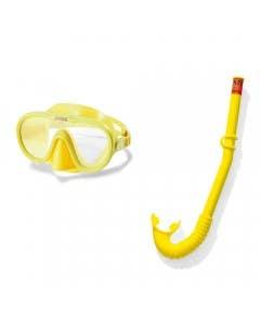 Set buceo mascara y snorkel adventure
