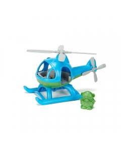 Helicóptero azul