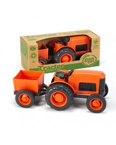 Tractor naranja
