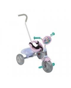 Triciclo con cinturón guía y canasto Madagascar