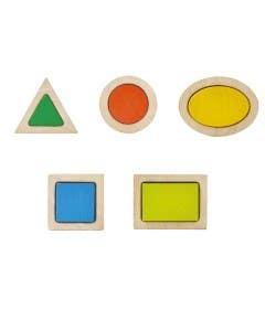 Bloques de figuras geométricas