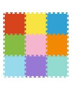 Puzzle de goma eva 9 piezas