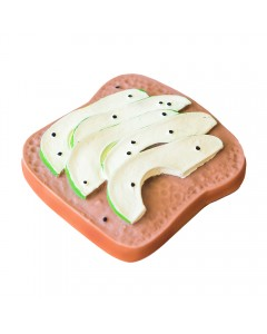 Mordedores tostadas palta