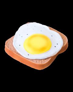 Mordedores tostadas huevo frito