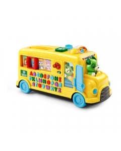 Autobus de letras y animales