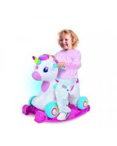 Unicornio interactivo balancin