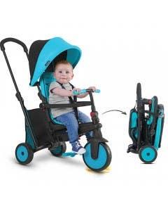Triciclo Folding trike str3 azul