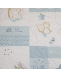 Set cuna boy playard little friends