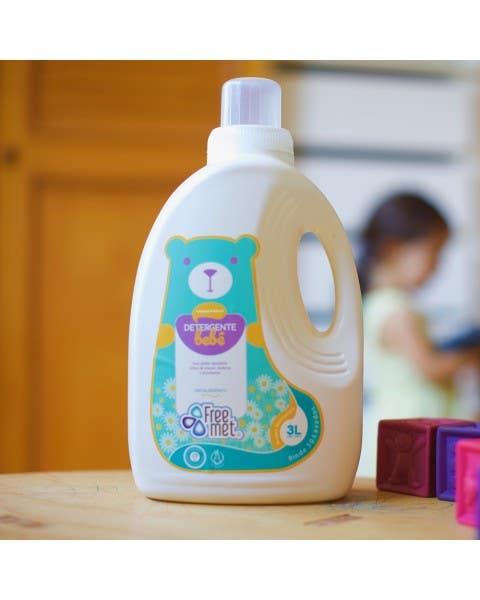 Detergente ecológico bebé Freemet
