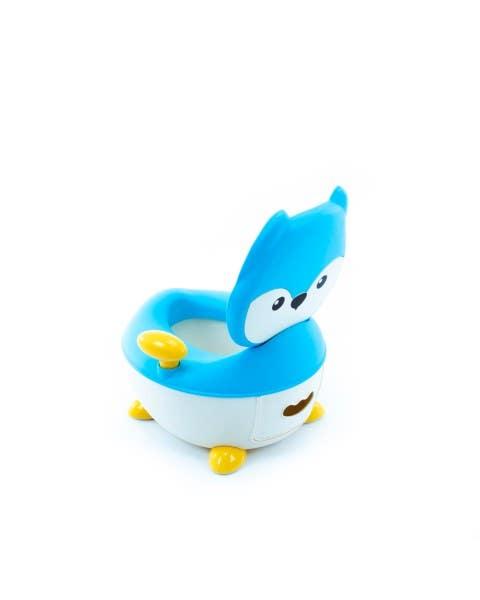 Potty Fox azul