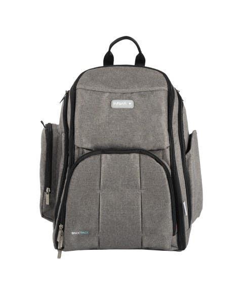 Mochila backpack gris