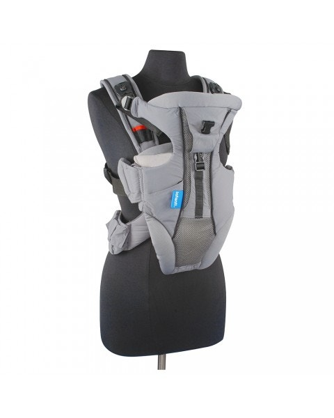 Arnés portabebé i-travel grey