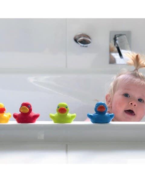 Patitos brillantes para baño
