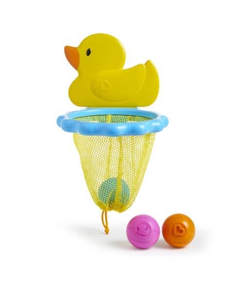 Juguete de baño Patito con pelotas