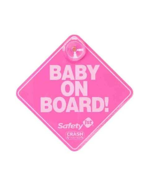 Letrero Baby On Board