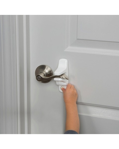 Palanca de bloqueo de puertas