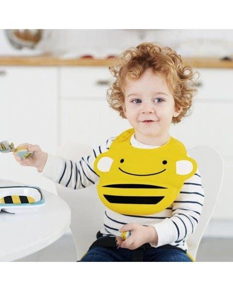 Babero de Silicona Bee