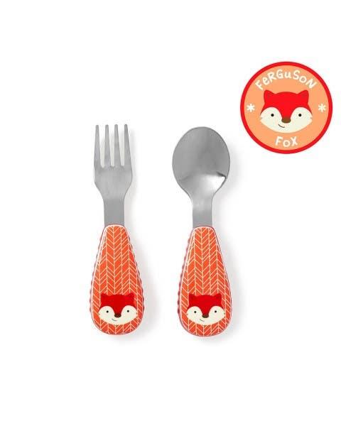 Set de cuchara y tenedor Zoo zorro
