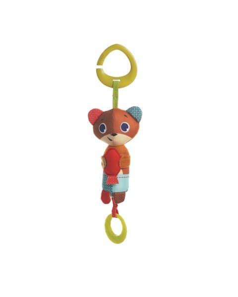 Tiny smart Isaac bear
