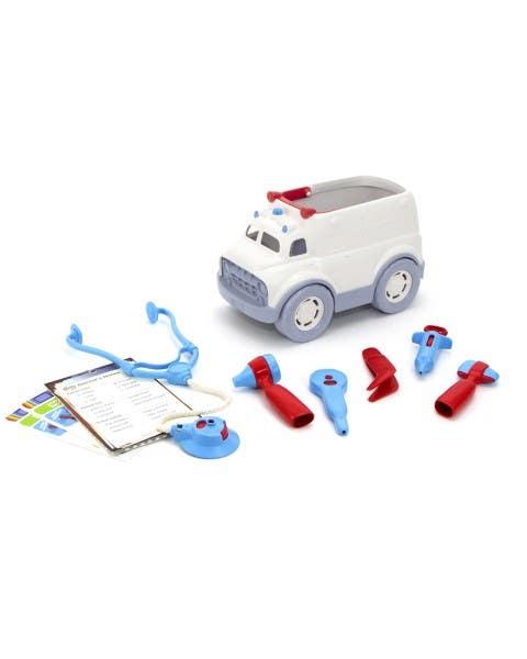 Set de doctor y ambulancia