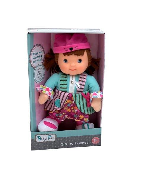 Muñeca Amigos Zip-Ity