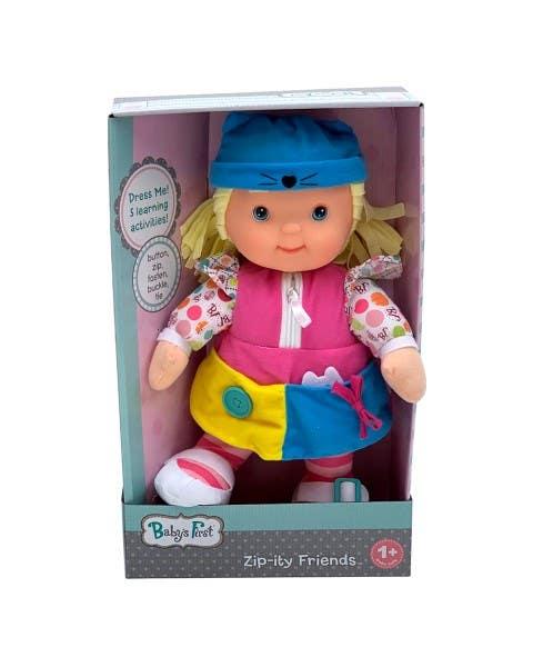 Muñeca Amigos Zip-Ity Princesa