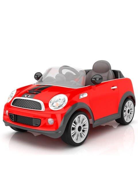 Mini Cooper S coupe rojo