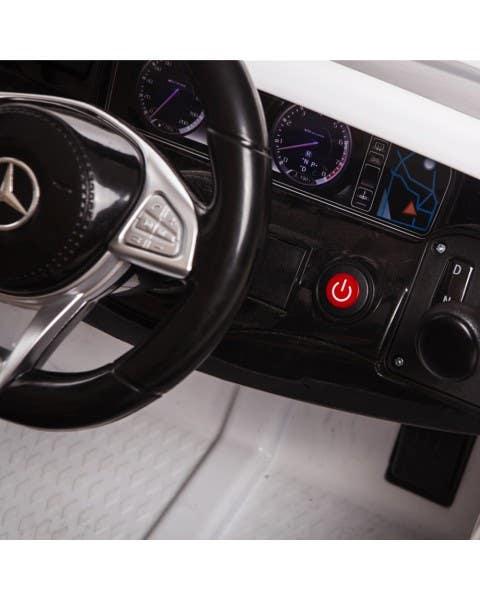 Mercedes Benz Amg S63 White