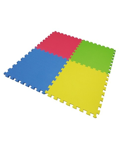 Puzzle de goma eva de 4 piezas 60 x 60 cm