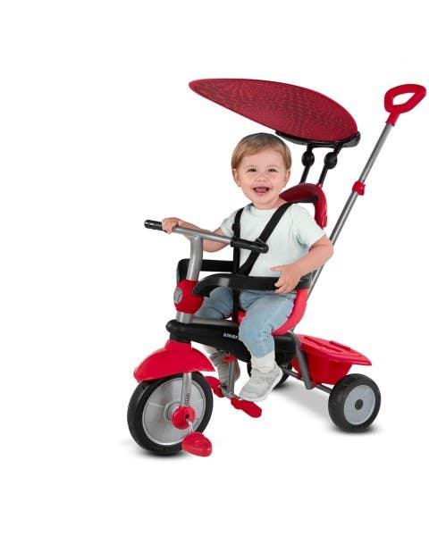Triciclo Str Zoom 4 En 1 Rojo