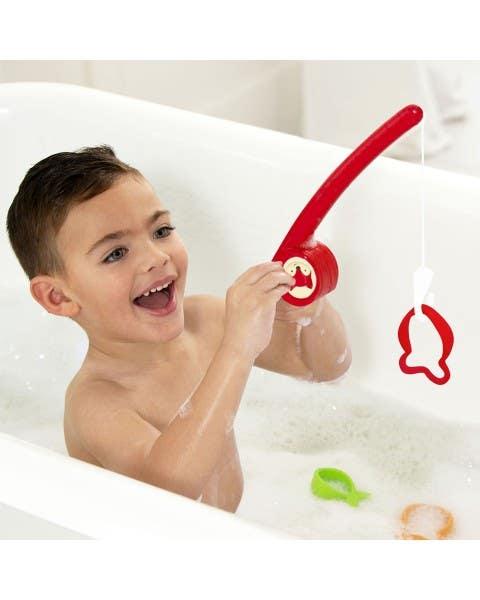 Juguete de baño pescafox