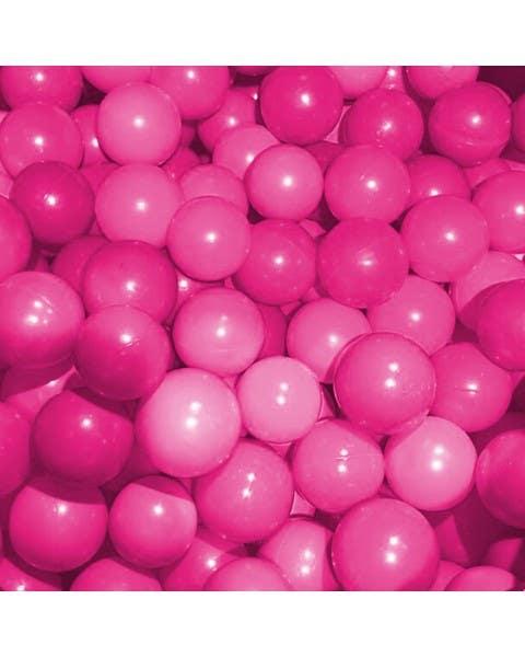 Carpa con pelotas diseño Unicornio color rosado