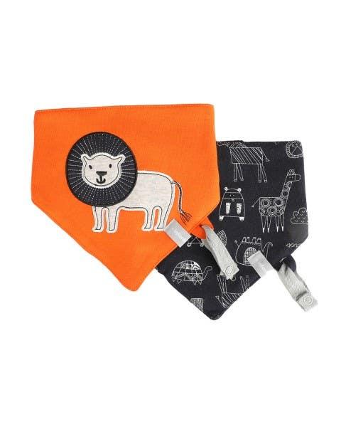 Pack 2 baberos impermeable safari