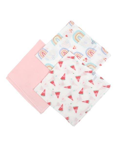 Pack 3 tutos rosado