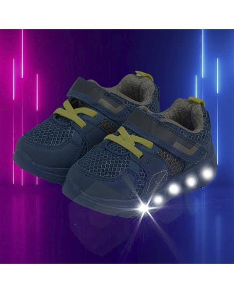 Zapatillas con luces Juan Pablo azules