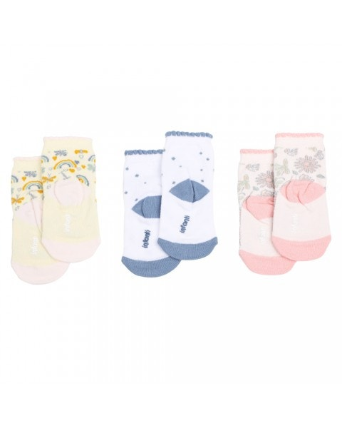 Pack 3 calcetines tropical