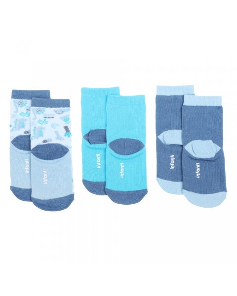 Pack 3 calcetines dino