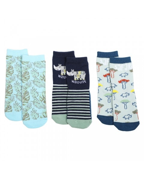Pack 3 calcetines jungle