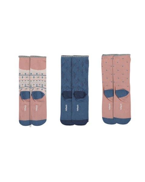 Pack de 3 calcetines Llama niña