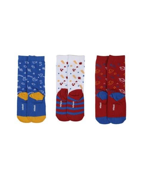Pack de 3 calcetines Bang niño