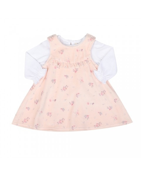 Conjunto vestido bebé garden rose