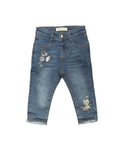 Jeans con Bordado Niña