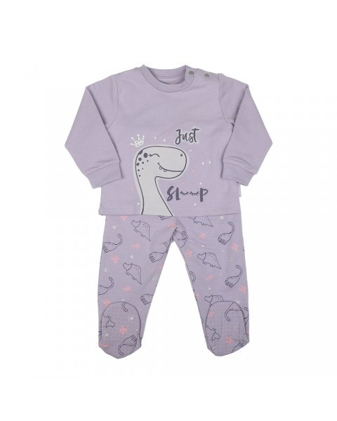 Pijama Largo Dino  Niña