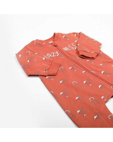 Pijama Largo con Patitas Niño