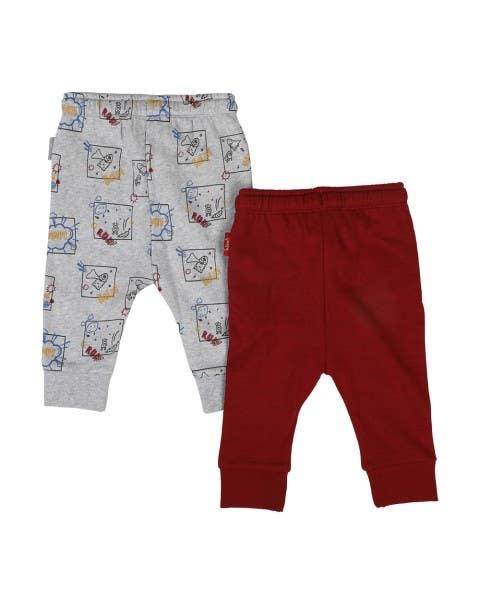 Set 2 Pantalones de Buzo Niño