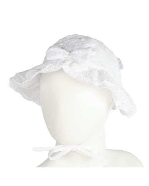 Sombrero Broderie Blanco
