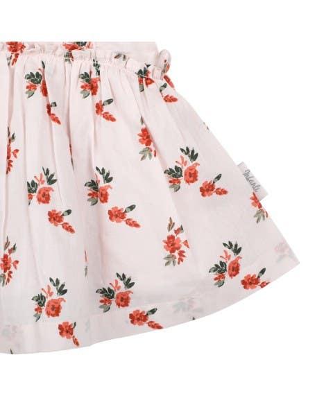 Vestido solera floral
