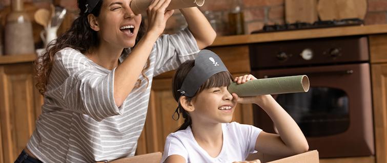 ¡Diversión en casa!: Juegos para disfrutar en familia