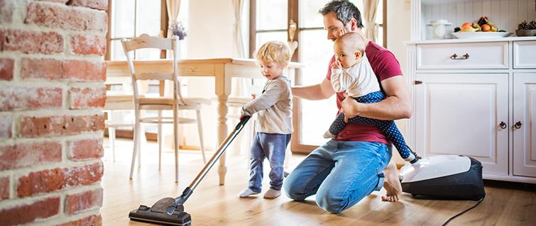 ¡Logra espacios saludables para ti y tu familia!